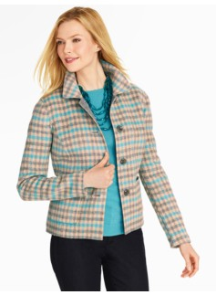 Bristol Check Double-Face Jacket