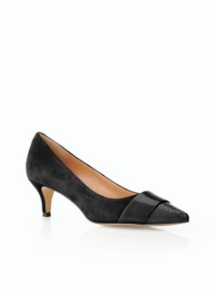 Darby Kitten-Heel Pumps