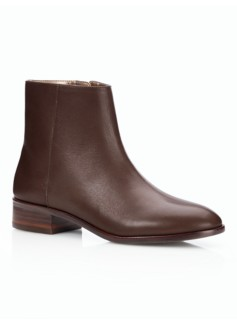 Teague Leather Booties