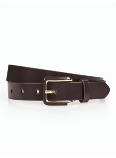 Polished Leather Belt
