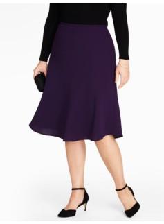 Seasonless Crepe Full Skirt