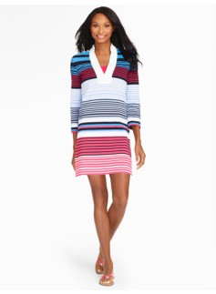 Island-Stripe Tunic