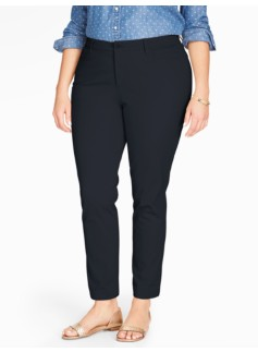 Cotton Bi-Stretch Five-Pocket Ankle Pant