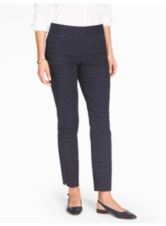 Talbots Chatham Ankle Pant - Scattered Dots
