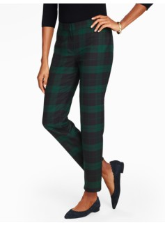 Tartan Plaid Ankle Pants