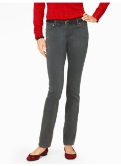 The Flawless Five-Pocket Straight-Leg Jean - Steam Wash