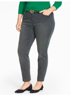The Flawless Five-Pocket Jegging - Steam Wash