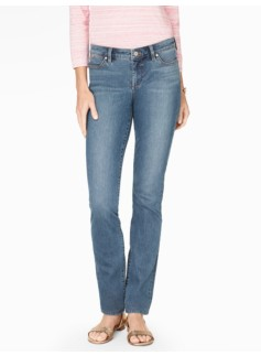 The Flawless Five-Pocket Straight Leg Jean - Barge Wash