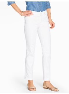 The Flawless Five-Pocket Ankle Jean - Curvy