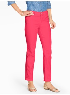 The Flawless Five-Pocket Slim  Ankle Jean - Curvy