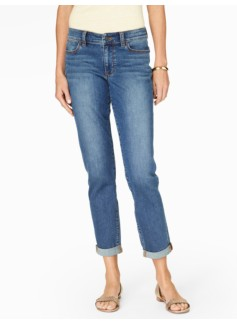 The Flawless Five-Pocket Boyfriend Jean - Mainsail Wash