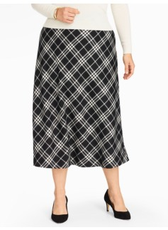 Brushed Box Twill Riding Skirt