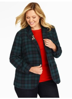 Campbell Plaid Blazer