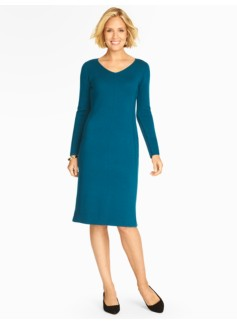 Merino Wool Sheath Dress