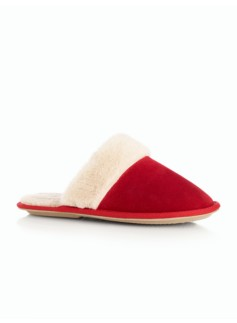Quinn Suede Slipper Slides