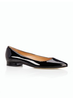 Edison Patent Leather Pointy Toe Flats