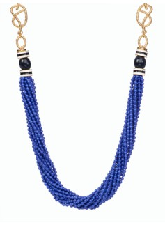 Seedbead & Rope-Chain Necklace