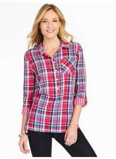 Plaid Double-Layer Popover