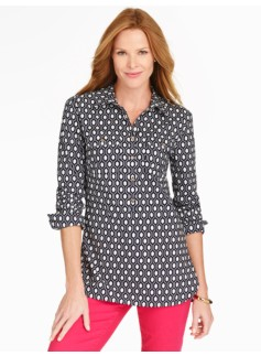 Long Print Popover-Geo Diamond