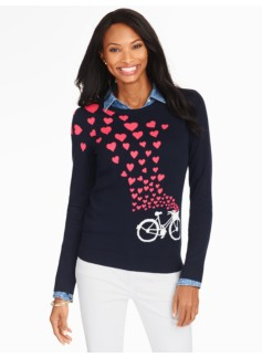 Bicycle & Hearts Sweater