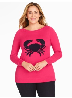 Textured Crab Sweater