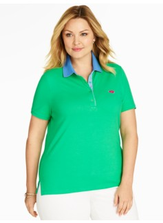 The Classic Polo Shirt - Watermelon Embroidery