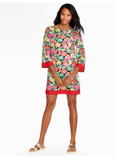 Block Party Floral Cover-Up