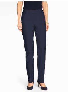 Talbots Newport Pant - Curvy/Double Weave