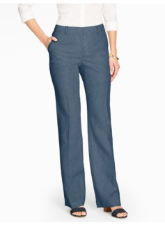 Talbots Windsor Pant - Curvy/Madison Linen