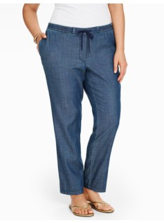 The Easy Drawstring Slim-Leg Pant-Superior Wash
