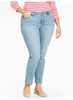 The Flawless Five-Pocket Ankle Jean - Dodger Wash