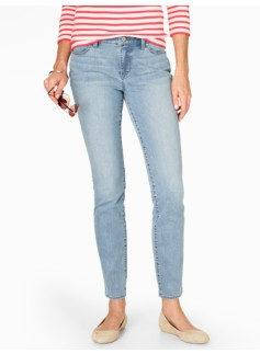 The Flawless Five-Pocket Slim Ankle Jean - Dodger Wash