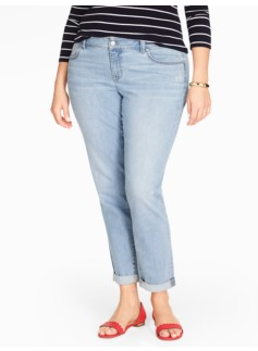 The Flawless Five-Pocket Boyfriend Jean - Dodger Wash
