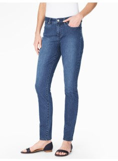 The Flawless Five-Pocket Jegging - Marina Wash