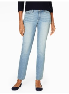The Flawless Five-Pocket Slim Ankle Jean - Curvy/Dodger Wash