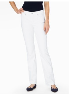 The Flawless Five-Pocket Bootcut Jean - White