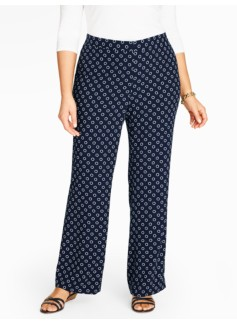 Woman Lifesaver Print Pant