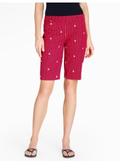 Bermuda Shorts - Anchor Print