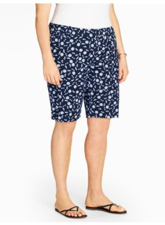 "10 1/2"" Twill Short - Beach Umbrella Print"