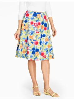 Fruits & Blooms Skirt