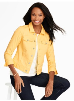 The Classic Denim Jacket-Colored Denim