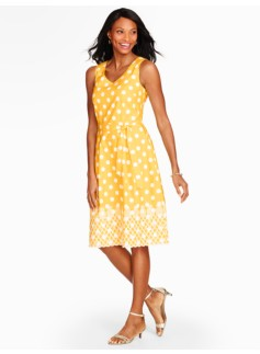 Pineapple & Dots Dress