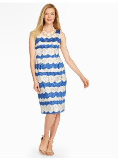 Daisy-Stripe Sheath