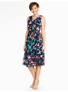Flower Botanical Dress