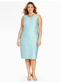 Doupioni Sleeveless Sheath