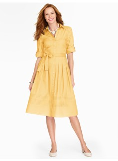 The Classic Shirtdress - Dandelion