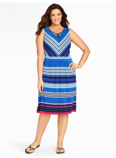 City Stripes Dress