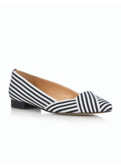 Edison Stripe-Ribbon Flats