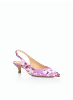 Pippa Kitten-Heel Pumps-Spring Blossoms