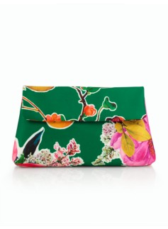 Blossoms & Quince Clutch